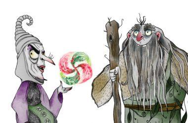 Kattalin y Basajaun, personajes vascos