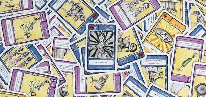Cartes de La Fallera Calavera