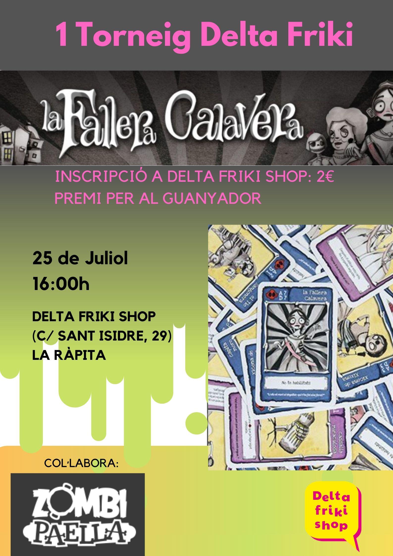 Torneo de La Fallera Calavera en Sant Carles de la Ràpita